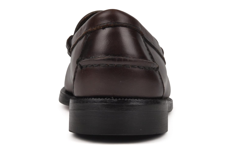 Loafers Sebago Classic Brun Bild från höger sidan