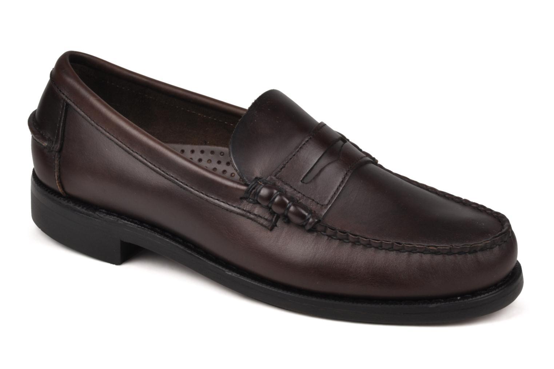 Loafers Sebago Classic Brun detaljerad bild på paret