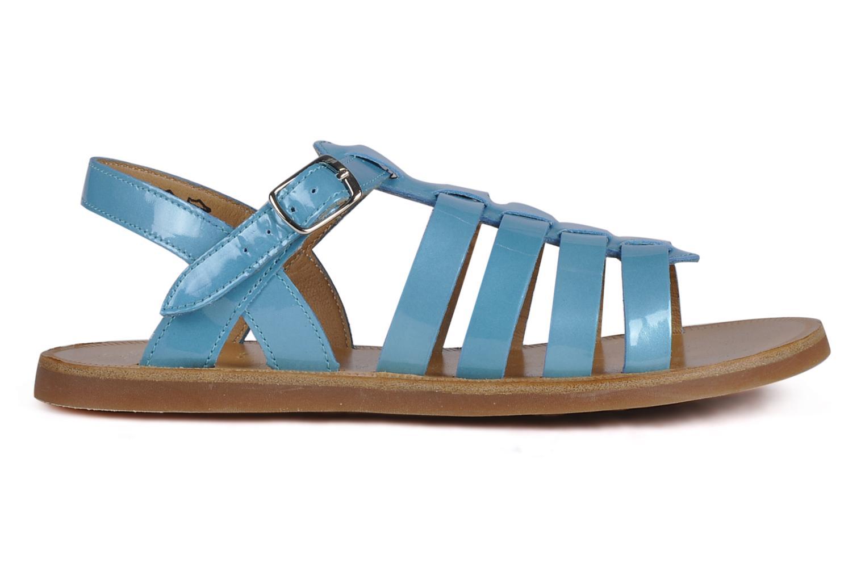 Sandalen Pom d Api Plagette Straps blau ansicht von hinten