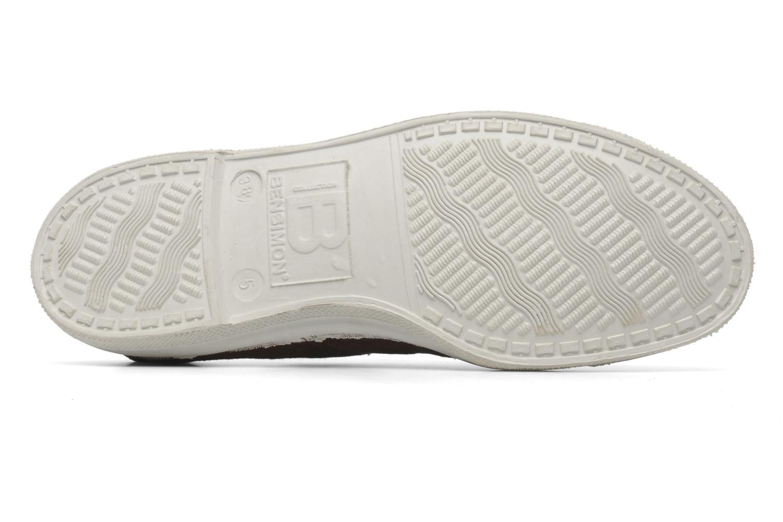Sneaker Bensimon Tennis Lacets braun ansicht von oben