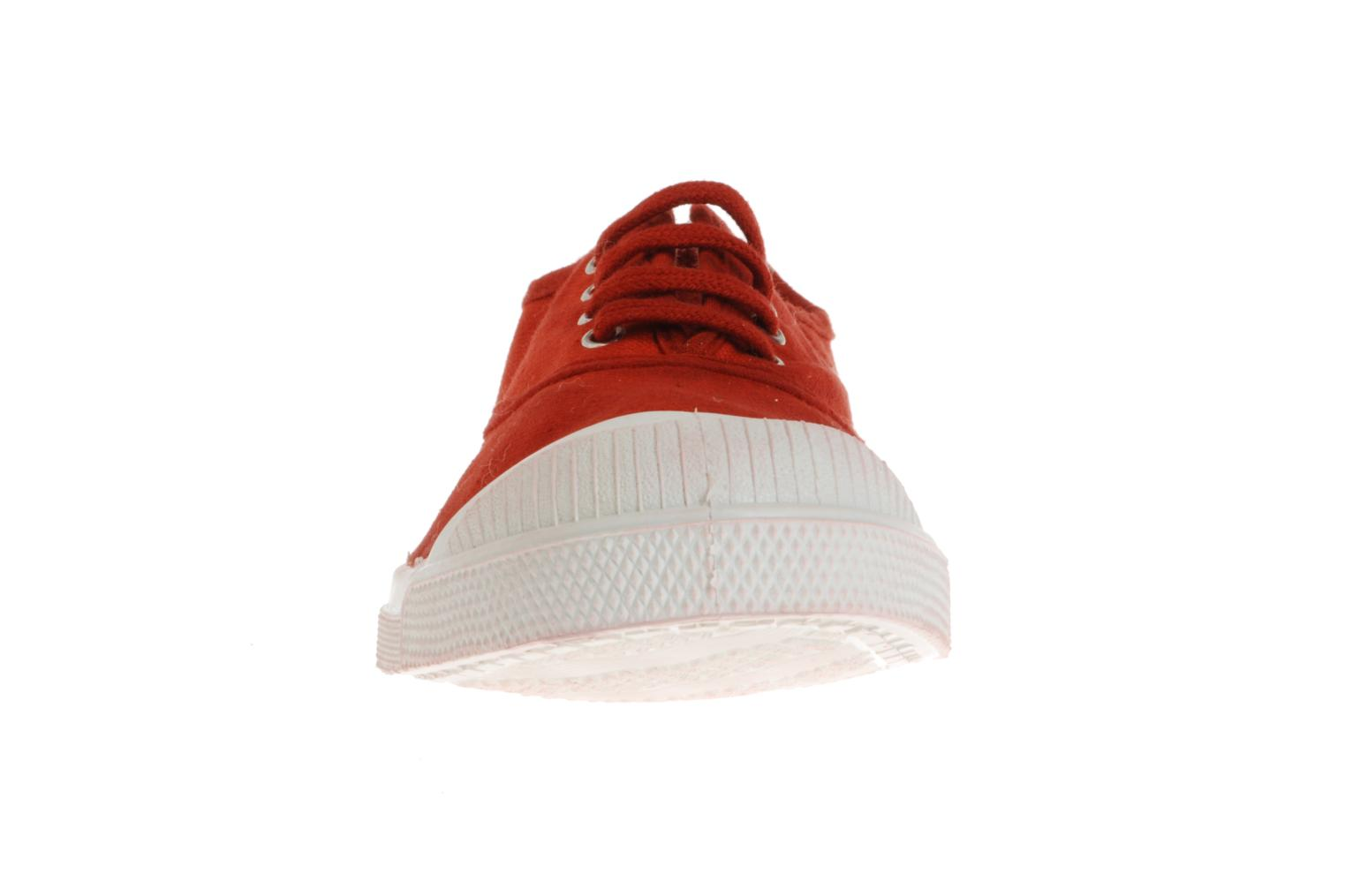 Trainers Bensimon Tennis Lacets Red model view