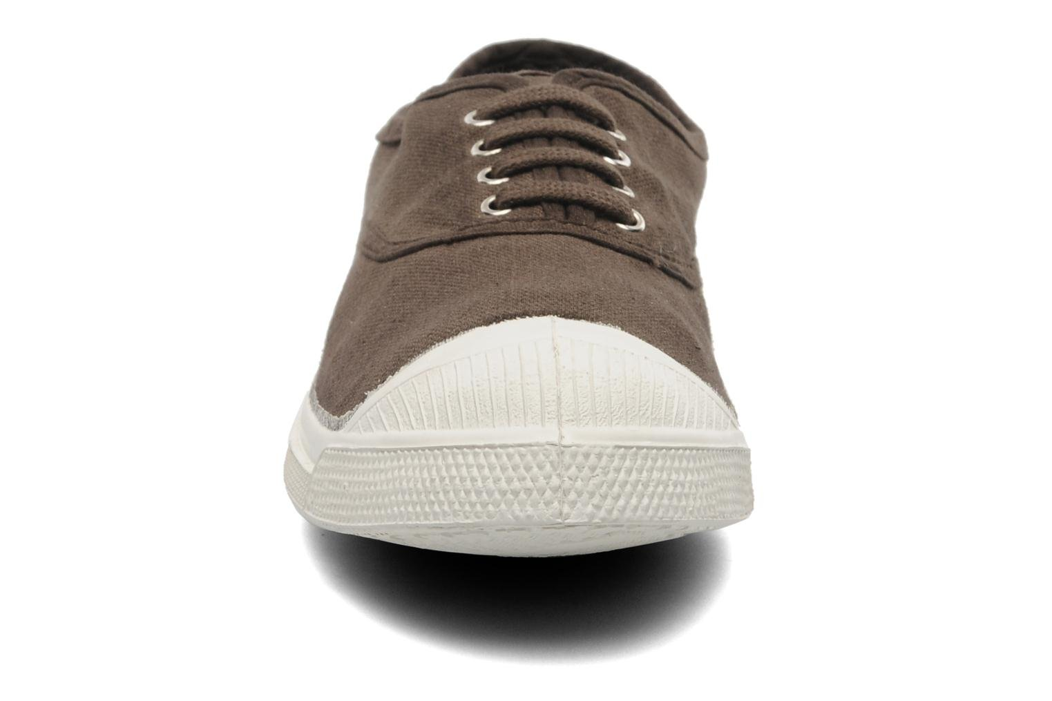 Trainers Bensimon Tennis Lacets Brown model view