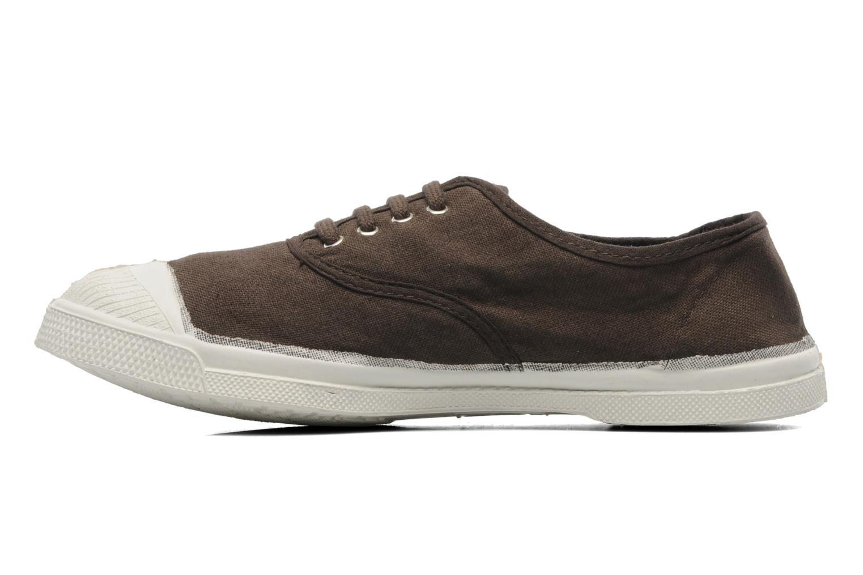 Sneaker Bensimon Tennis Lacets braun ansicht von vorne