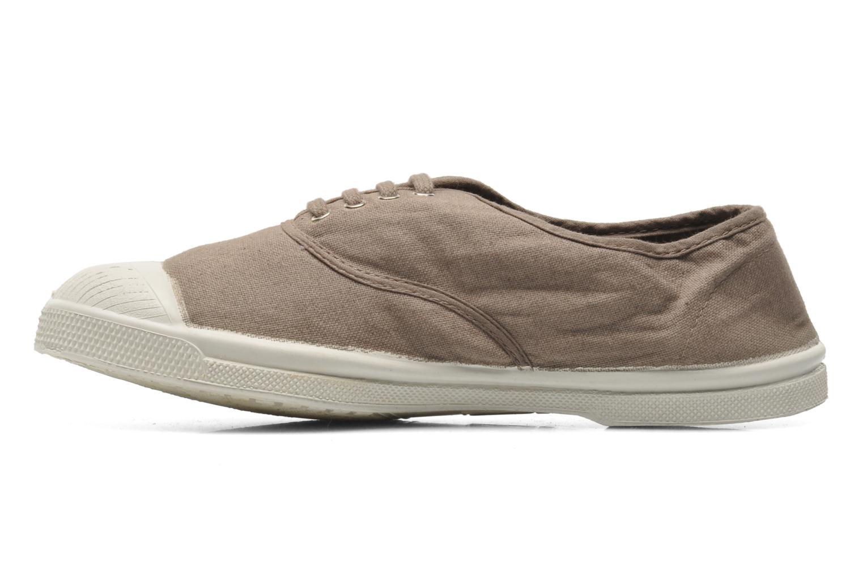Sneakers Bensimon Tennis Lacets Bruin voorkant