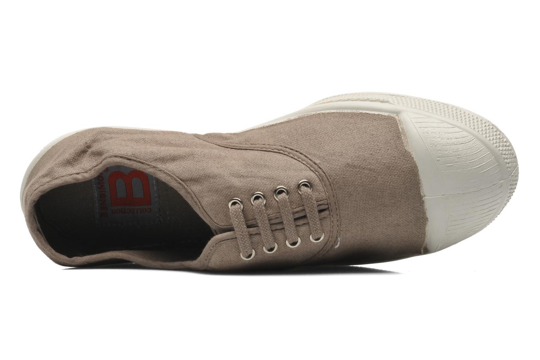 Sneakers Bensimon Tennis Lacets Marrone immagine sinistra