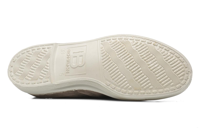 Sneakers Bensimon Tennis Lacets Marrone immagine dall'alto