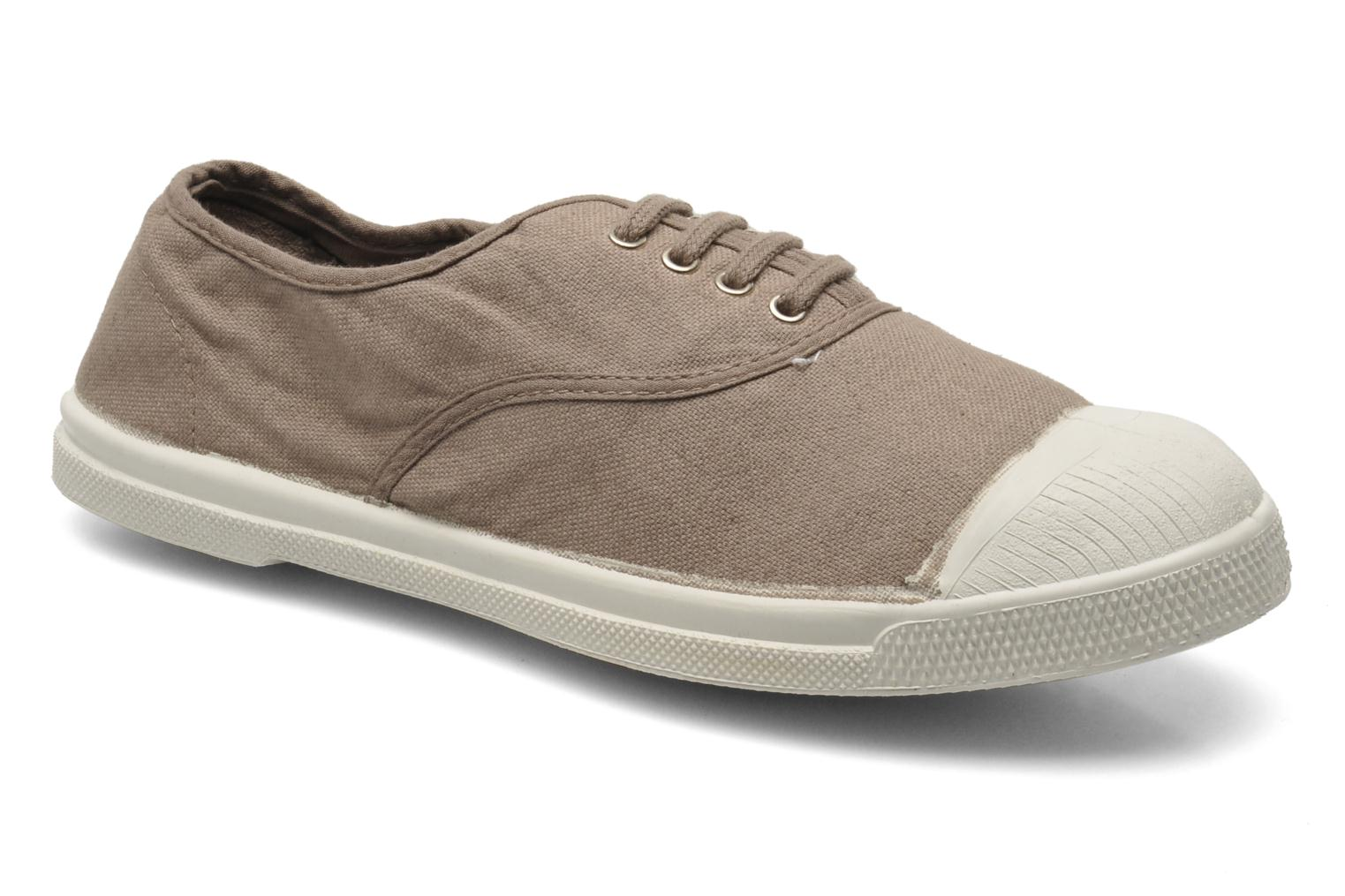 Trainers Bensimon Tennis Lacets Brown detailed view/ Pair view