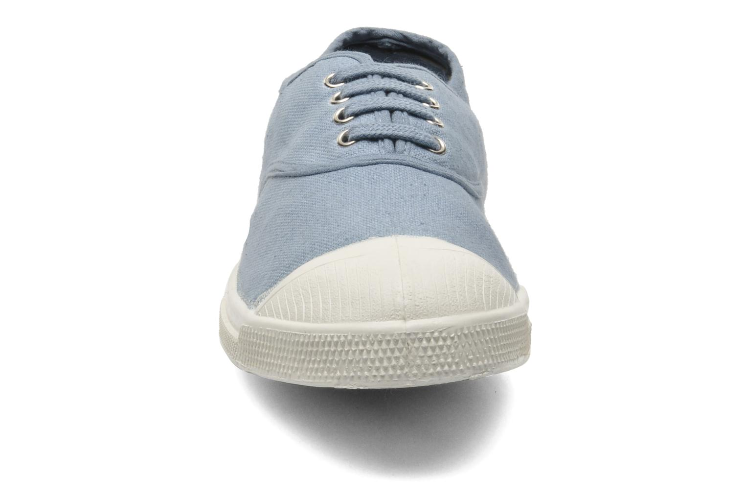 Trainers Bensimon Tennis Lacets Blue model view