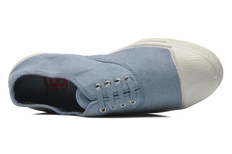 Tennis skosnören Bleu grisé PE15