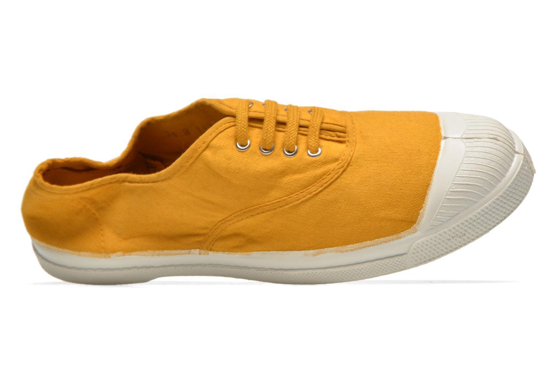Sneaker Bensimon Tennis Lacets gelb ansicht von links
