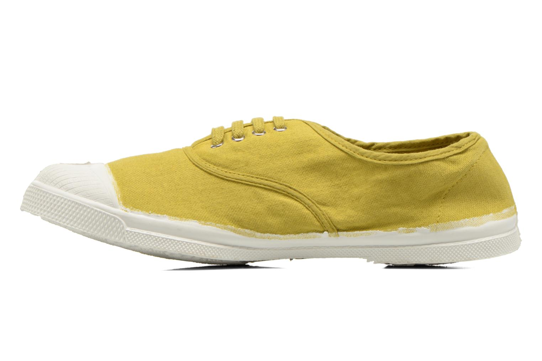 Tennis Lacets jaune anis