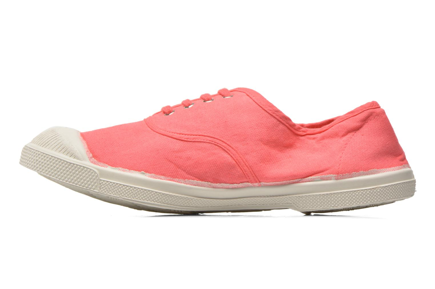 Trainers Bensimon Tennis Lacets Pink front view