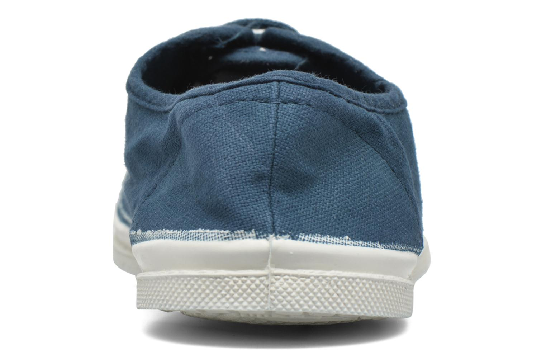 Sneakers Bensimon Tennis Lacets Blå Se fra højre