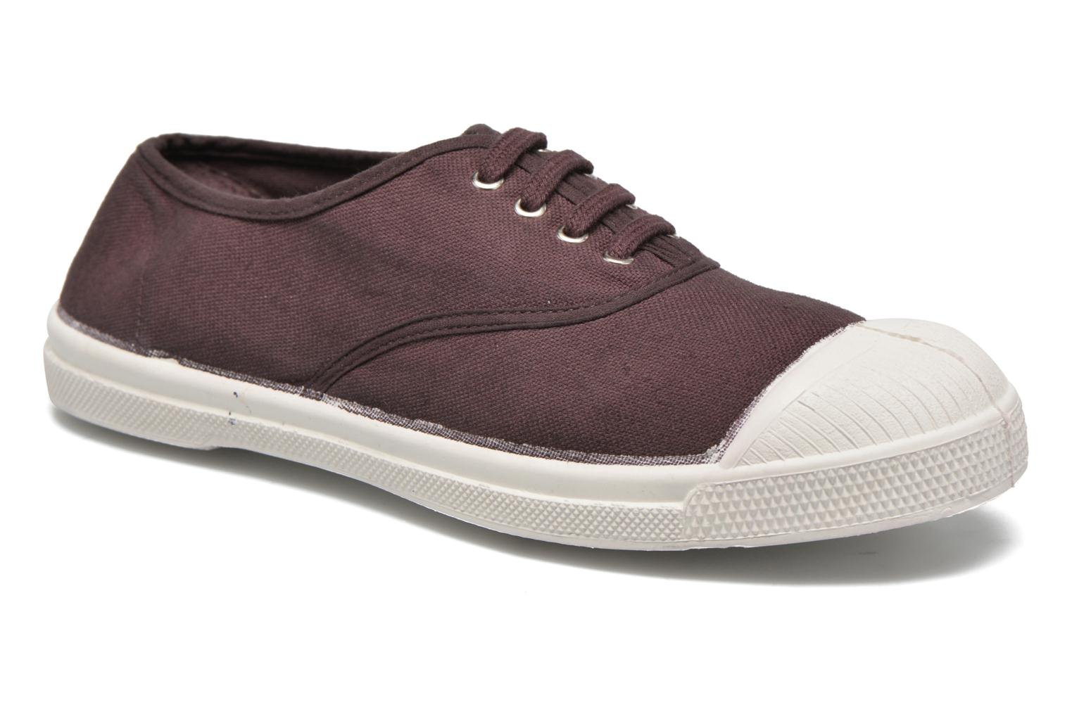 Trainers Bensimon Tennis Lacets Purple detailed view/ Pair view