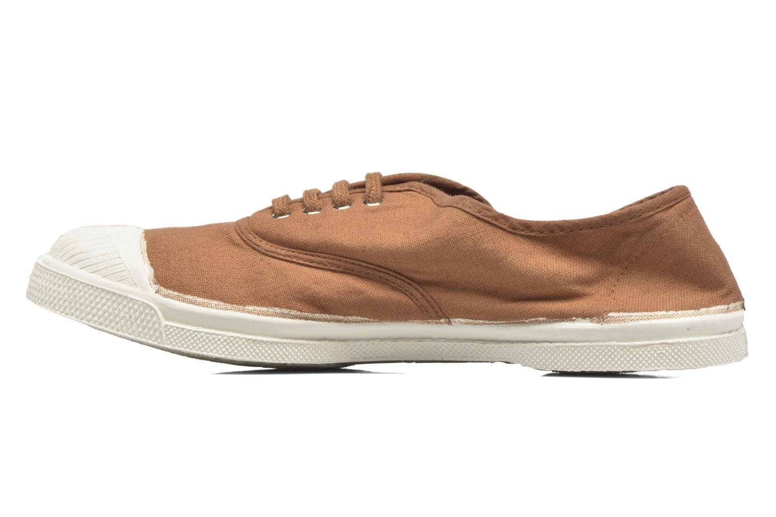 Trainers Bensimon Tennis Lacets Brown front view