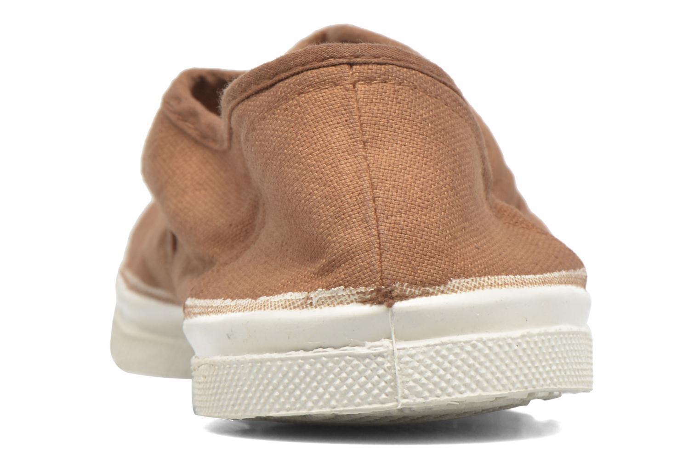 Sneakers Bensimon Tennis Lacets Marrone immagine destra