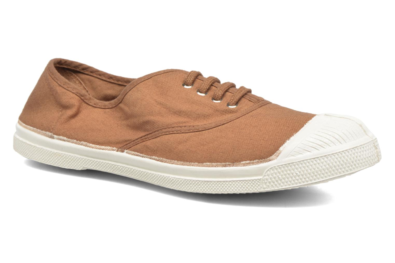 Sneaker Bensimon Tennis Lacets braun detaillierte ansicht/modell