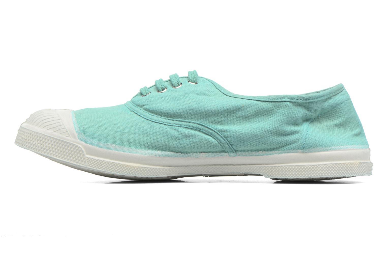 Sneaker Bensimon Tennis Lacets blau ansicht von vorne