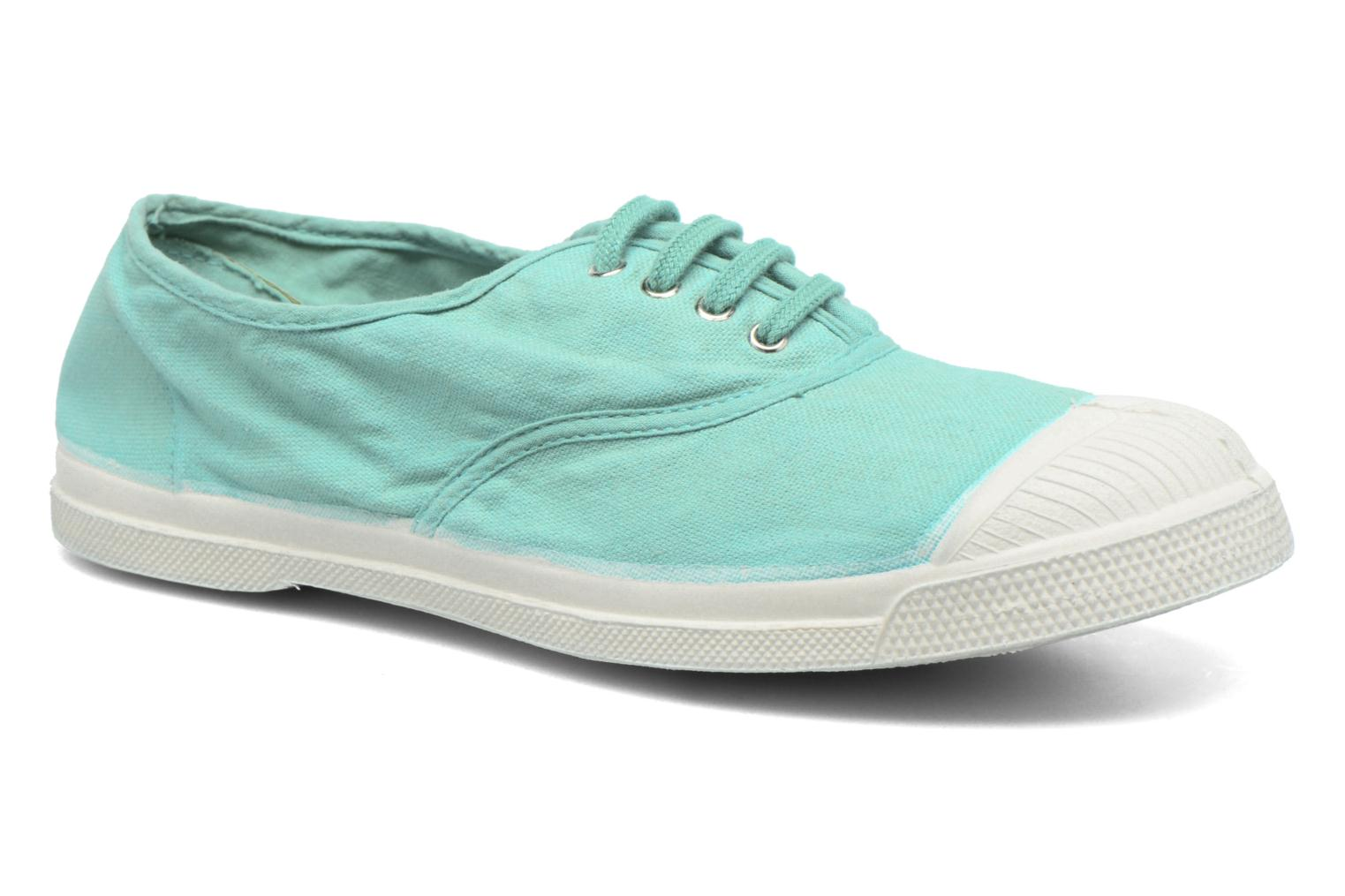 Trainers Bensimon Tennis Lacets Blue detailed view/ Pair view