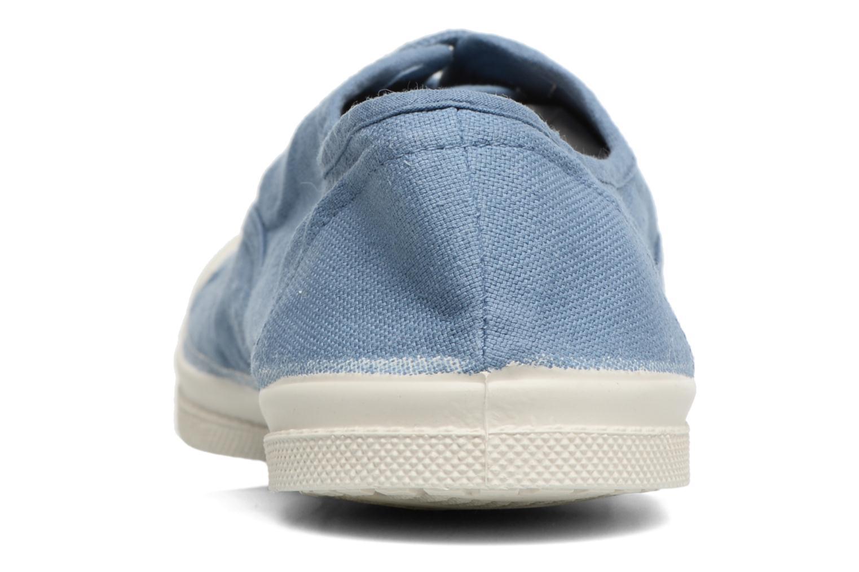 Sneakers Bensimon Tennis Lacets Blauw rechts