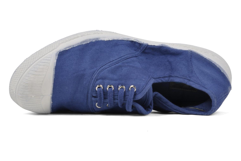Tennis Lacets Bleu Drapeau