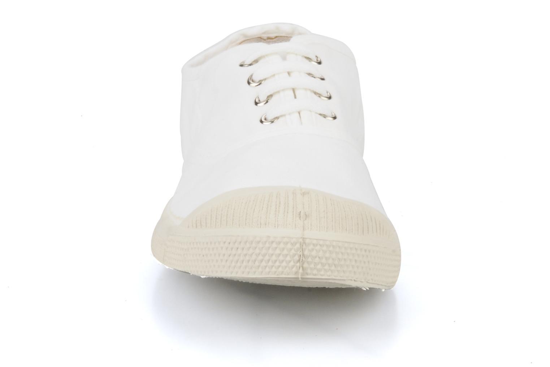 Baskets Bensimon Tennis Lacets W Blanc vue portées chaussures