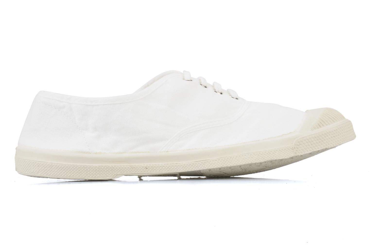 Sneakers Bensimon Tennis Lacets Wit achterkant