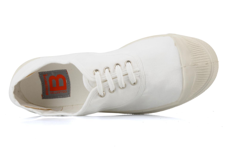 Sneakers Bensimon Tennis Lacets Hvid se fra venstre