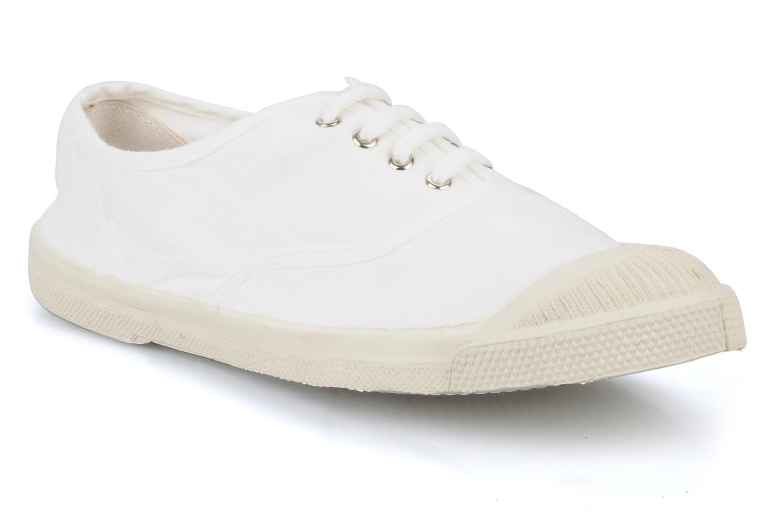 Sneakers Bensimon Tennis Lacets Hvid detaljeret billede af skoene