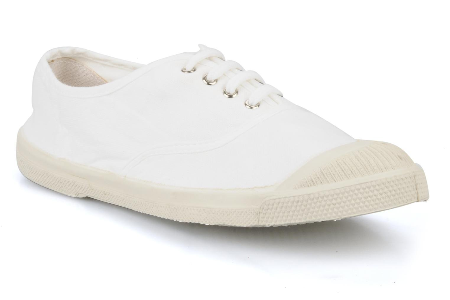 Sneakers Bensimon Tennis Lacets Wit detail