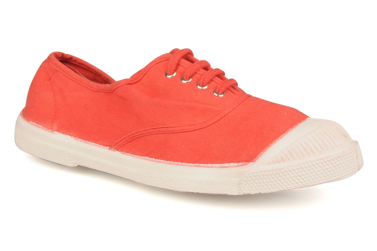 Sneakers Bensimon Tennis Lacets Oranje detail
