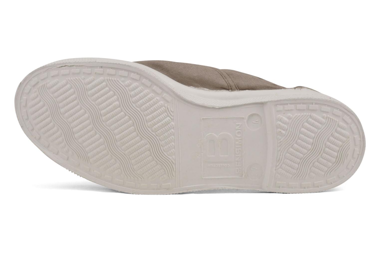 Sneakers Bensimon Tennis Lacets Beige boven