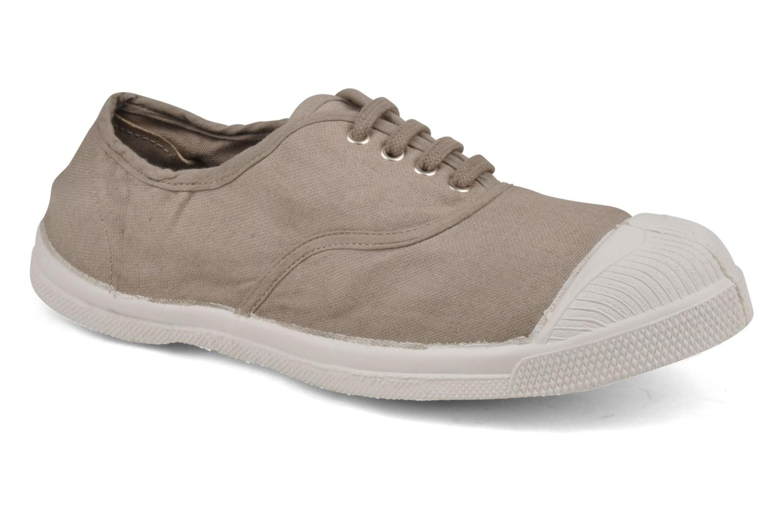 Sneakers Bensimon Tennis Lacets Beige detail