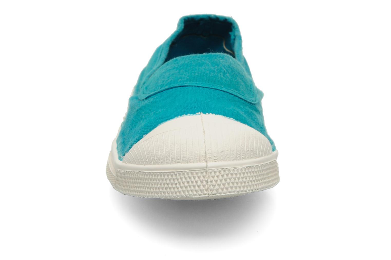 Ballerinas Bensimon Tennis Elastique blau schuhe getragen