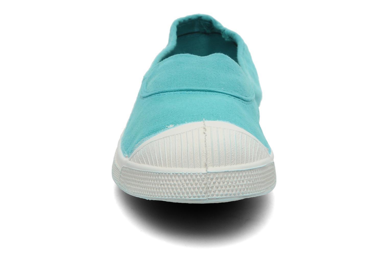 Ballerines Bensimon Tennis Elastique Bleu vue portées chaussures
