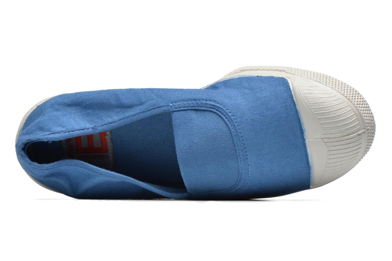 Ballerinas Bensimon Tennis Elastique blau ansicht von links