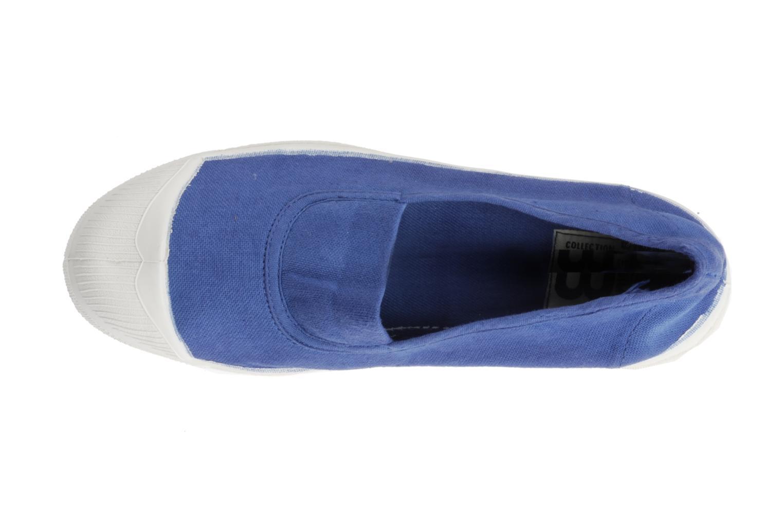 Tennis Elastique Bleu Lavé