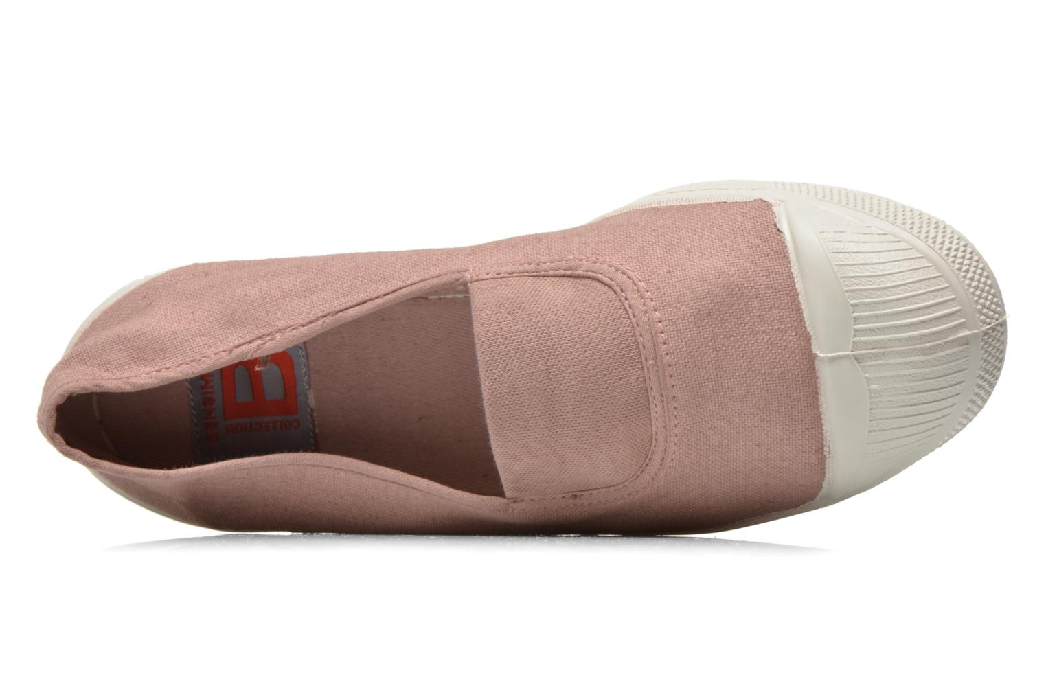 Ballerina's Bensimon Tennis Elastique Roze links