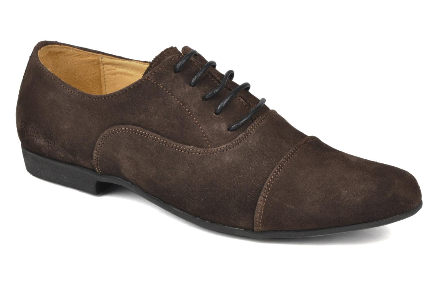 Lace-up shoes Swear Jimmy 1 Brown detailed view/ Pair view
