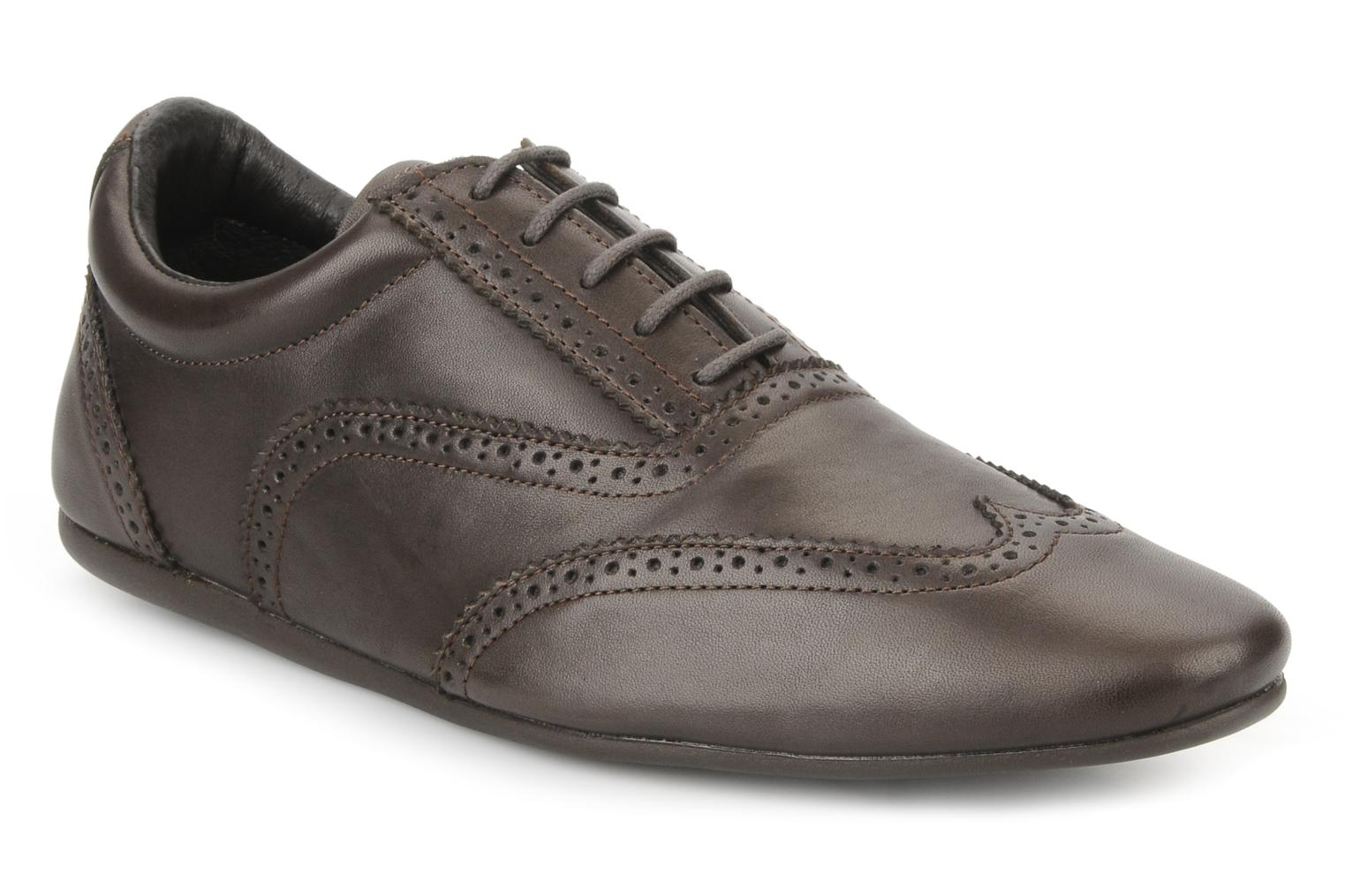 Lace-up shoes Schmoove Jamaica Corso Easy Brown detailed view/ Pair view