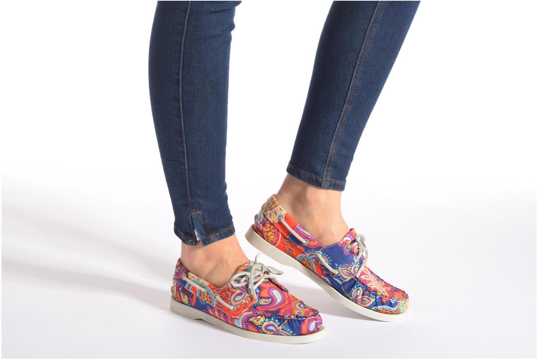 Chaussures à lacets Sebago Docksides W Noir vue bas / vue portée sac
