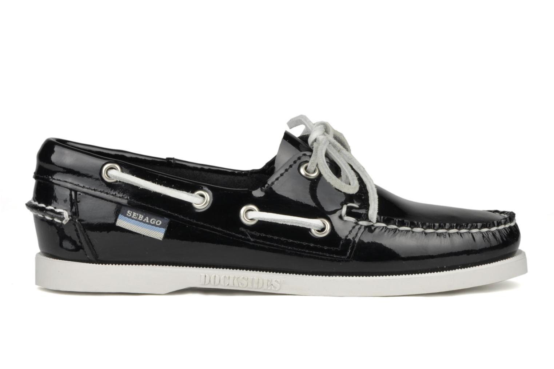Chaussures à lacets Sebago Docksides W Noir vue derrière