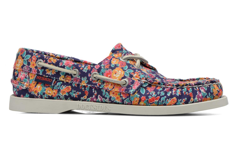 Chaussures à lacets Sebago Docksides W Multicolore vue derrière