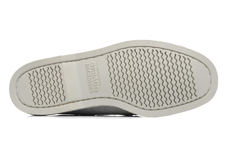 Chaussures à lacets Sebago Docksides M Gris vue haut