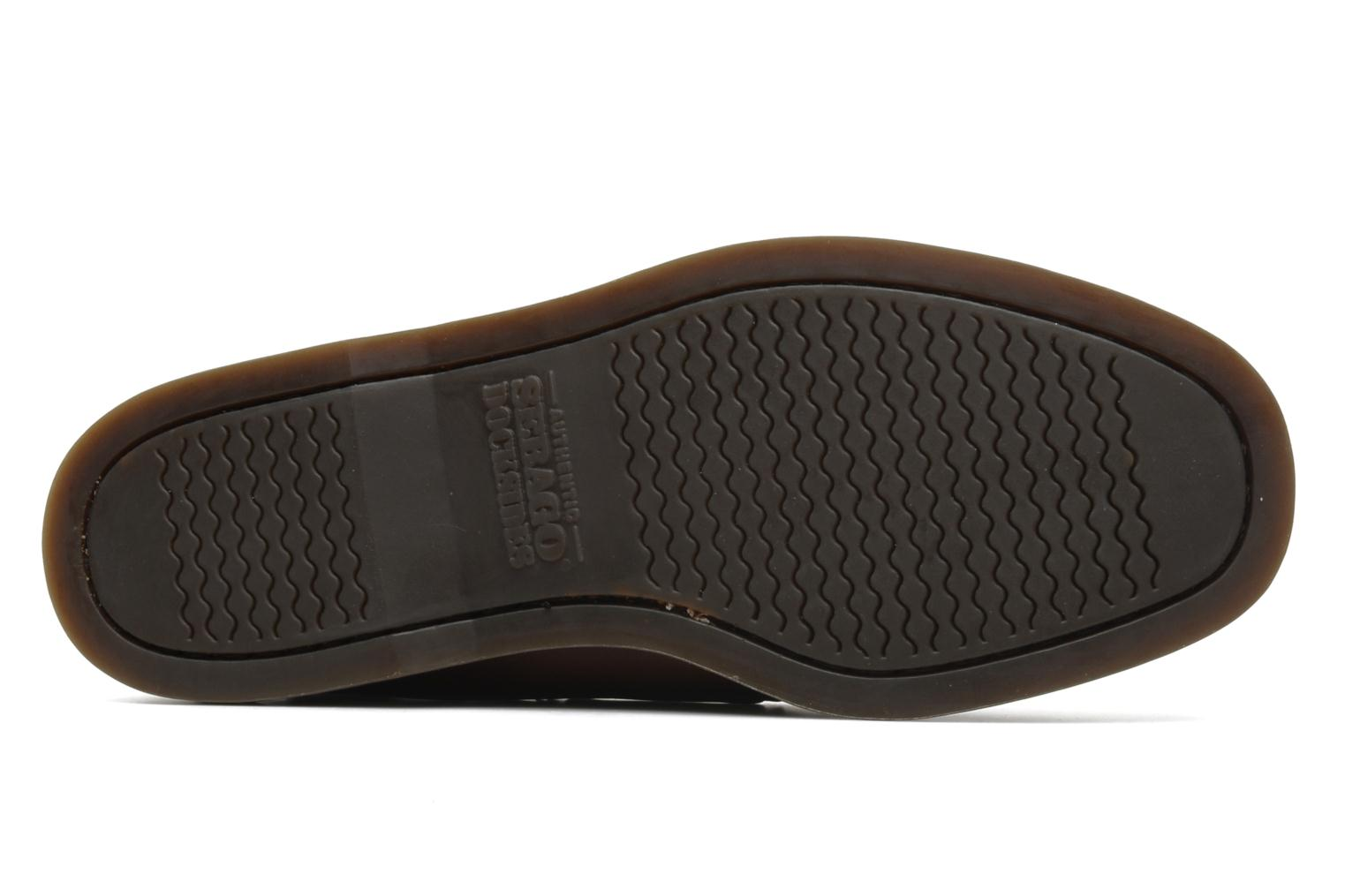 Lace-up shoes Sebago Docksides M Brown view from above