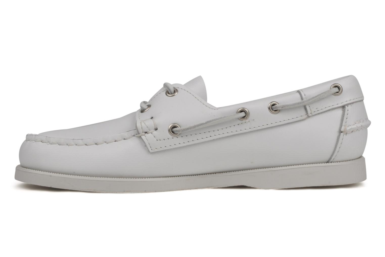 Chaussures à lacets Sebago Docksides M Blanc vue face