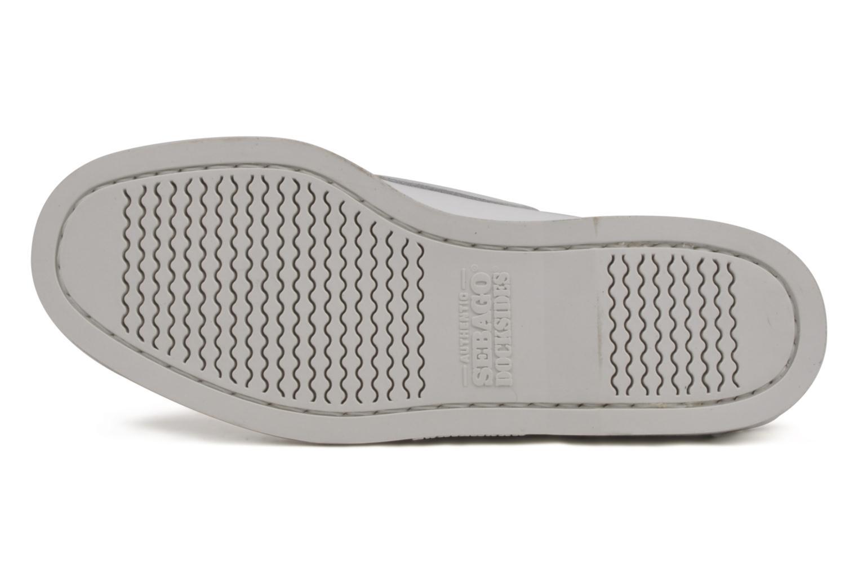Chaussures à lacets Sebago Docksides M Blanc vue haut
