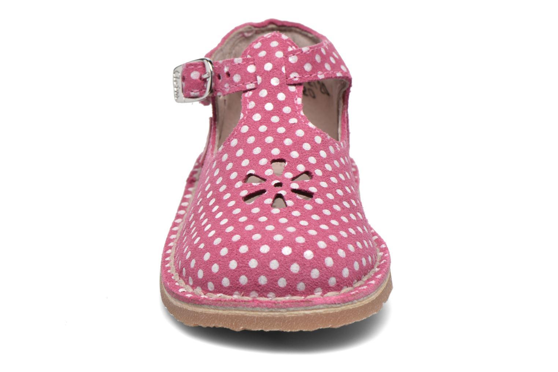 Bottines d'été Aster Bimbo Rose vue portées chaussures