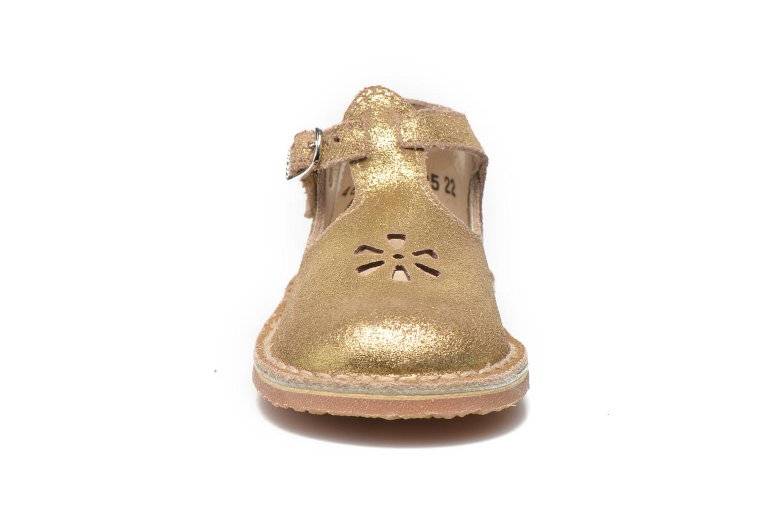 Sommerschuhe Aster Bimbo gold/bronze schuhe getragen