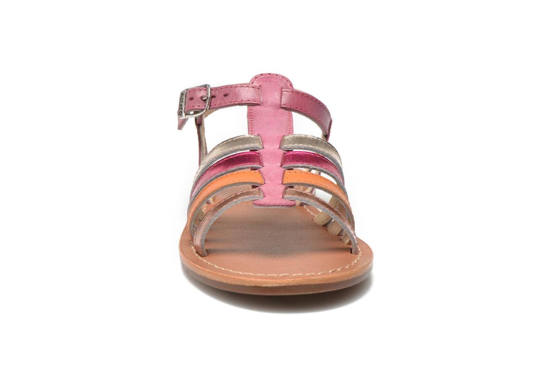 Sandales et nu-pieds Aster Vibride Rose vue portées chaussures